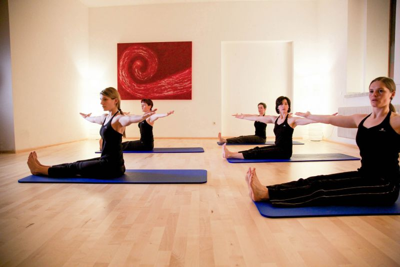 Pilates Matte Gruppen-Training